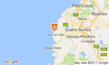 Mapa Flic-en-Flac Apartamentos 111737