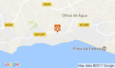 Mapa Albufeira Vivenda 109214