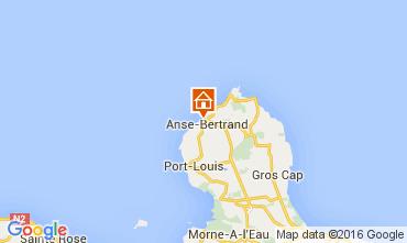 Mapa Anse Bertrand Casa 106000