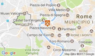 Mapa Roma Apartamentos 109742