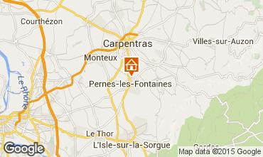 Mapa Pernes les Fontaines Casa 94169