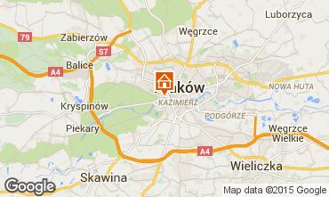 Mapa Cracóvia Apartamentos 15059