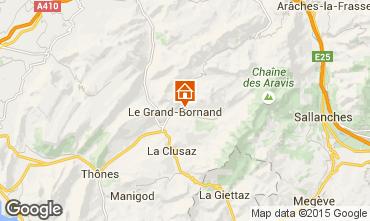 Mapa Le Grand Bornand Apartamentos 1360