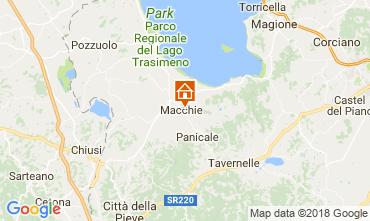 Mapa Castiglione del Lago Apartamentos 108079