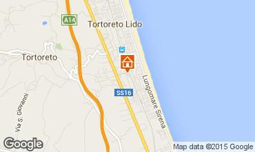 Mapa Tortoreto Apartamentos 42623