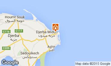 Mapa Djerba Vivenda 59238