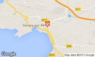 Mapa Sanary Apartamentos 93899