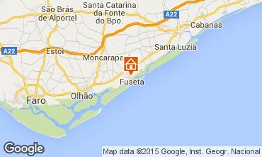 Mapa Tavira Apartamentos 58475