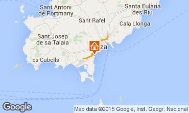 Mapa Ibiza Apartamentos 96844