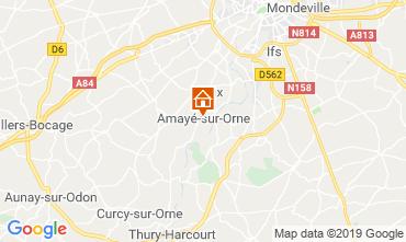 Mapa Caen Casa de turismo rural/Casa de campo 97863