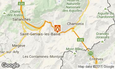 Mapa Chamonix Mont-Blanc Apartamentos 22897