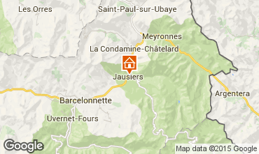 Mapa Barcelonnette Casa 39676