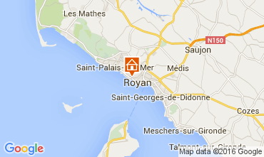 Mapa Royan Apartamentos 6855