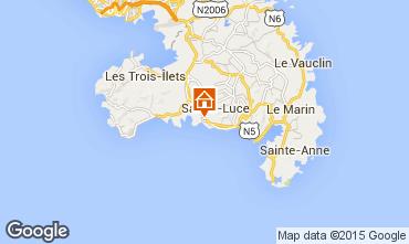 Mapa Sainte Luce Vivenda 69068