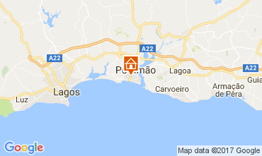 Mapa Praia da Rocha Apartamentos 108583