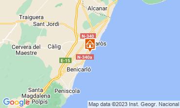 Mapa Vinaròs Apartamentos 103046