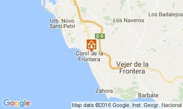 Mapa Conil de la Frontera Apartamentos 103978