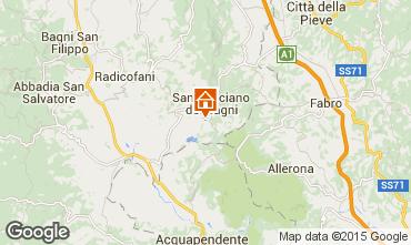 Mapa Siena Apartamentos 37302