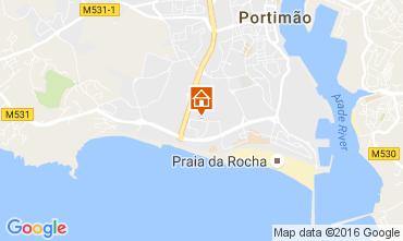 Mapa Praia da Rocha Apartamentos 107137