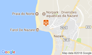 Mapa Nazaré Apartamentos 107773