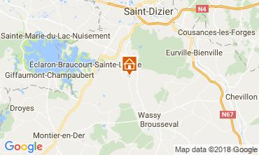Mapa  Casa de turismo rural/Casa de campo 115332