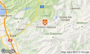 Mapa Les Diablerets Apartamentos 4732