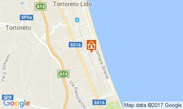 Mapa Tortoreto Apartamentos 77121