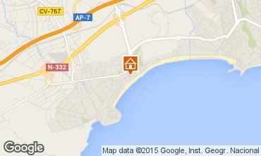 Mapa Benidorm Apartamentos 77978