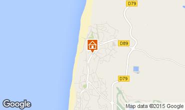 Mapa Hossegor Apartamentos 96784