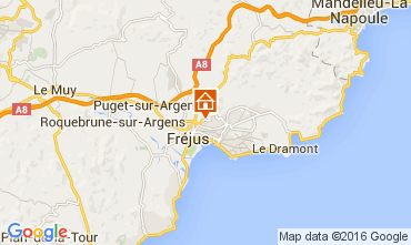 Mapa Fréjus Mobil Home 97055