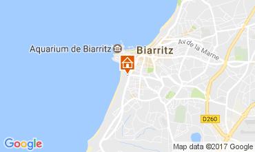 Mapa Biarritz Apartamentos 107662