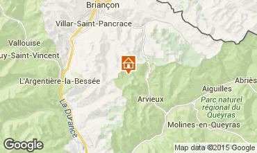 Mapa Arvieux en Queyras Chalé 79860