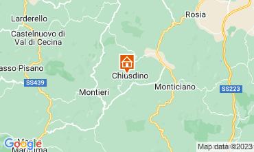 Mapa San Gimignano Apartamentos 73261