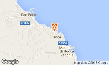 Mapa San Foca Apartamentos 96428