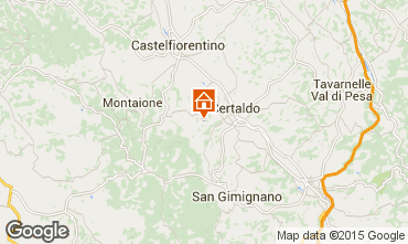 Mapa Florença Casa 92096