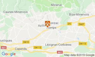 Mapa Azille Apartamentos 118373