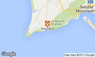 Mapa Sesimbra Apartamentos 45099