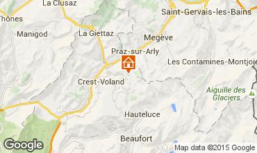Mapa Notre Dame de Bellecombe Chalé 90657