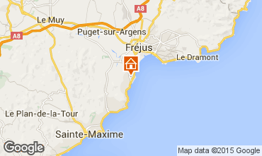 Mapa Saint Aygulf Mobil Home 52348