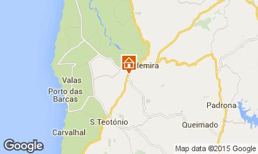 Mapa Vila Nova de Milfontes Apartamentos 55348
