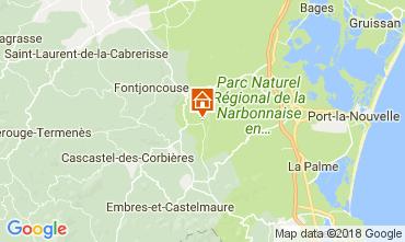 Mapa Narbonne Vivenda 80444