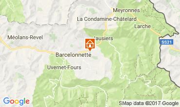 Mapa Barcelonnette Casa 30426