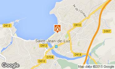 Mapa Saint Jean de Luz Apartamentos 89774
