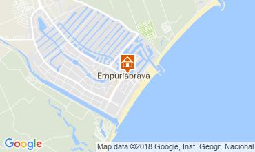 Mapa Empuriabrava Apartamentos 107806