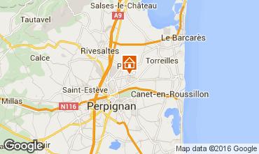 Mapa Canet-en-Roussillon Casa 95688