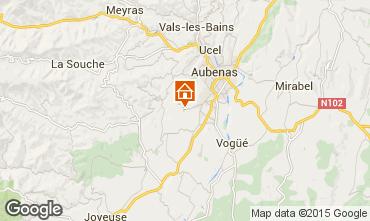 Mapa Aubenas Casa 71557