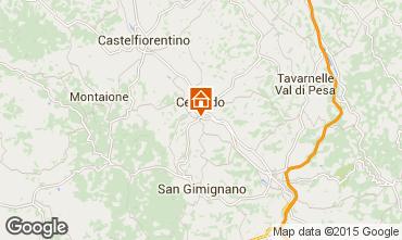 Mapa San Gimignano Apartamentos 81030