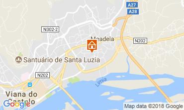 Mapa Viana do Castelo Apartamentos 21585