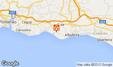 Mapa Albufeira Vivenda 42645