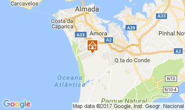 Mapa Costa de Caparica Vivenda 63940